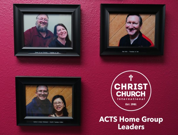 ACTS Home Group Leader