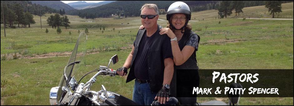 Pastors Mark & Patty Spencer - Leadership Banners